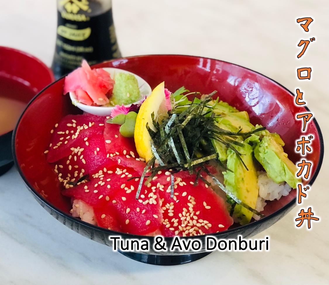 Tuna & Avo Donburi