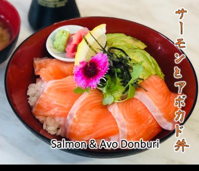 Salmon & Avo Donburi