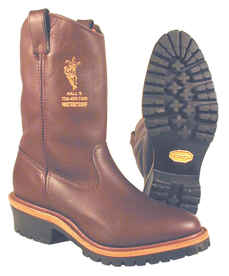 627W 12 Waterproof Pull On Lineman Boots