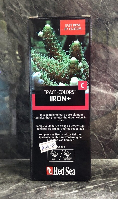 Red Sea Trace Colors C - Iron (500ml)
