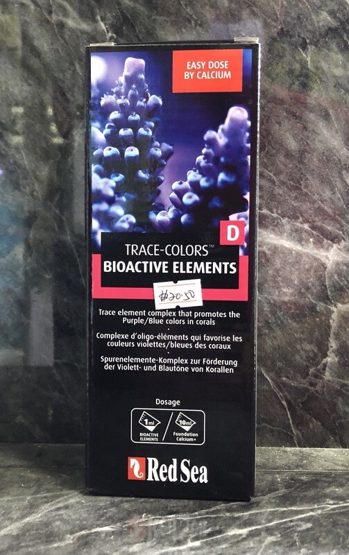 Red Sea Trace Colors D - Bioactive Elements (500ml)