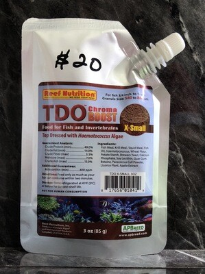 TDO X-Small Size (85g)