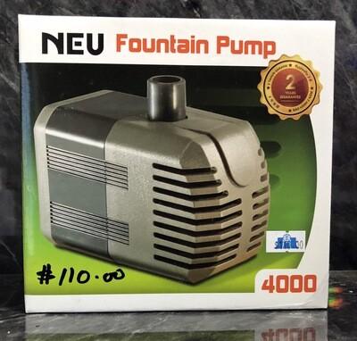 Neu Pump (4000L/H)