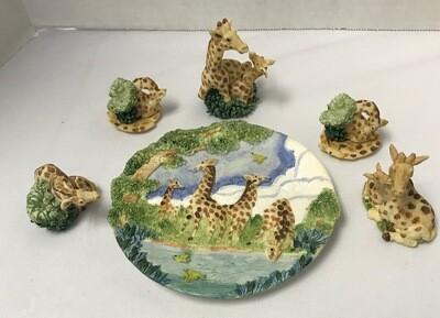 6-Piece Giraffe Collection