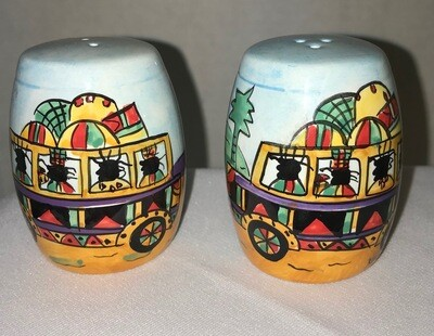 Jamaica Salt & Pepper Shakers