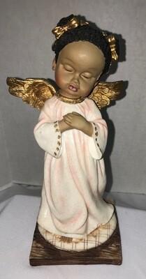 Brown Angel w/ Gold Wings