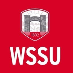 WSSU Message coaster