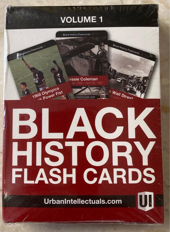 Black History Flashcards - Volume 1