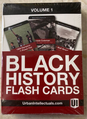 Black History Flashcards - Volume 1