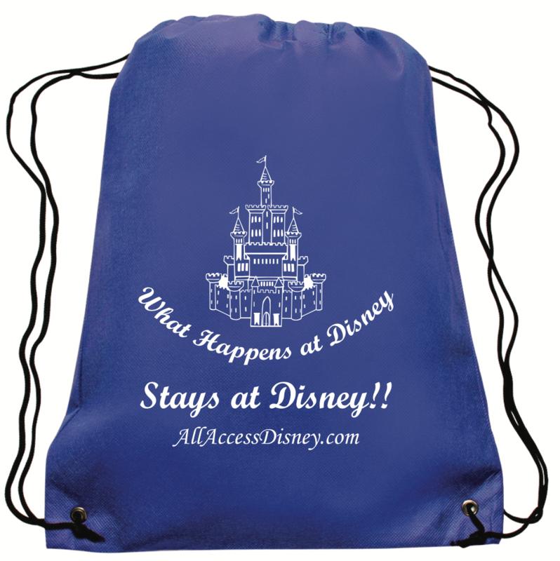 Drawstring Backpacks--set of 2