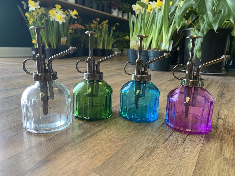 Vintage Spray Bottle, Glass