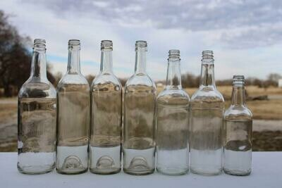 Tall Glass Bottles
