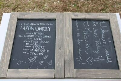 Huge Chalkboard Signs