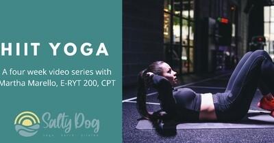 HIIT Yoga Four Week Video Series