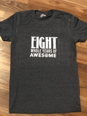 Limited Edition Eight Year Anniversary Shirt-Extra Large