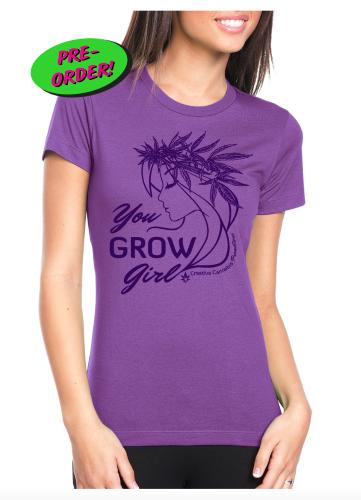 You Grow Girl Ladies Tee