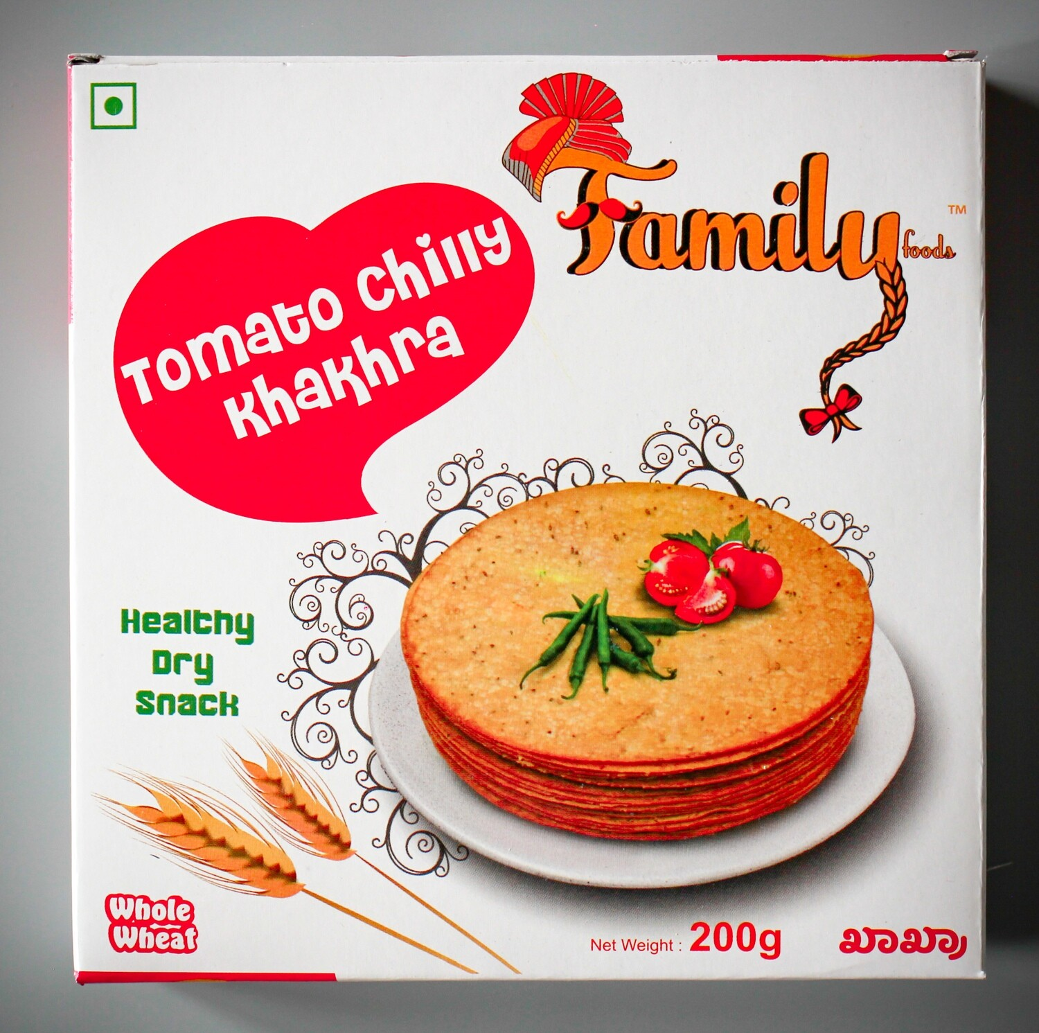 Tomato Chilly Khakhra