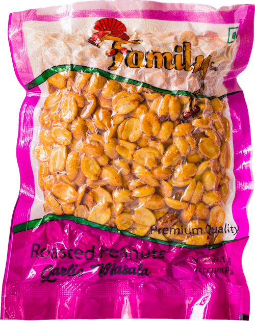 Roasted Peanuts - Garlic Masala