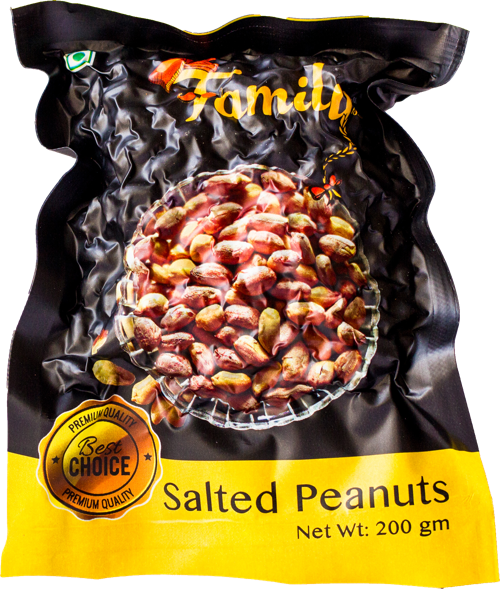 Salted Peanuts with Husk