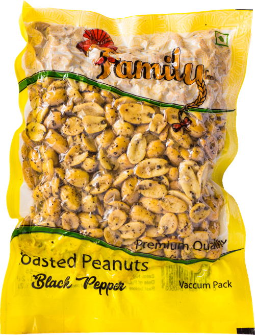 Roasted Peanuts - Black Pepper