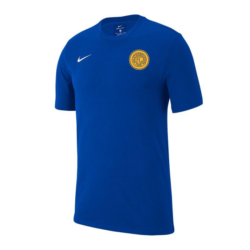 Nike Team Club 19 T-Shirt Blau (463) Kinder-XL