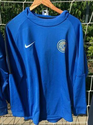 Nike Academy Hoody 100% Polyester Blau (463) Erwachsenen-XL