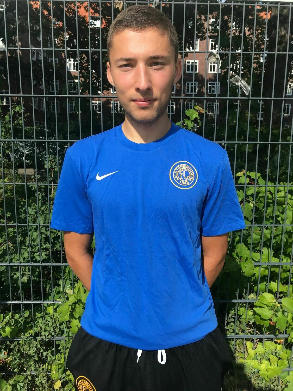 Nike Team Club 19 T-Shirt Blau (463) Erwachsenen-S