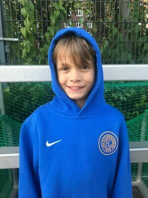 Nike Team Club 19 Hoody Blau (463) Kinder-XS