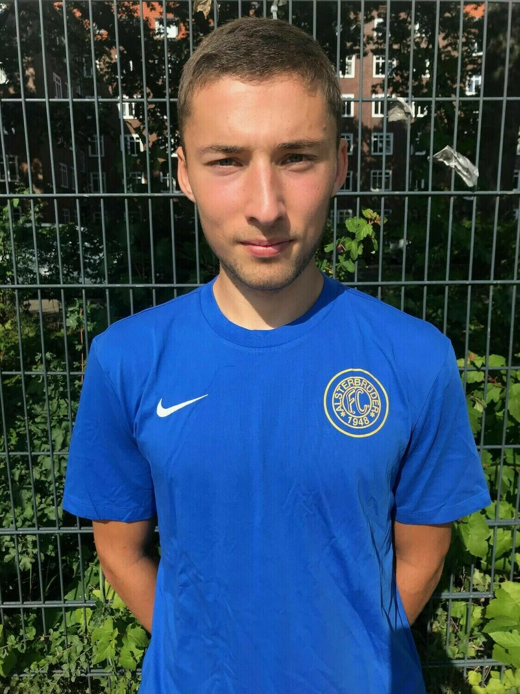Nike Team Club 19 T-Shirt Blau (463) Erwachsenen-L