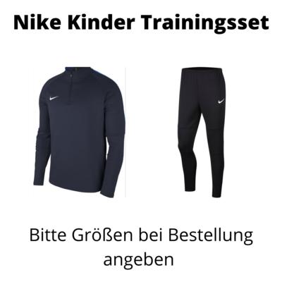 Nike Trainingsset Kinder mit gelben Logos