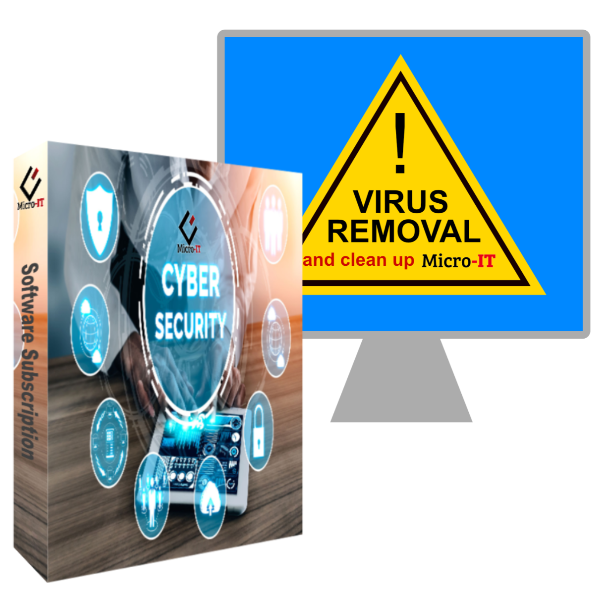 Cyber Security Bundle & Virus/Computer Cleaning