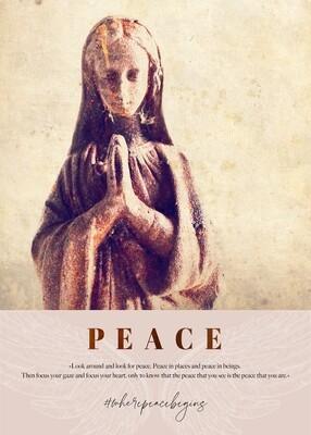 PEACE · kunstikon