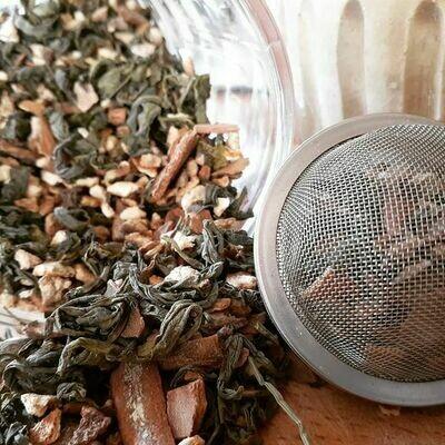 Sweet n Spicy Green Tea