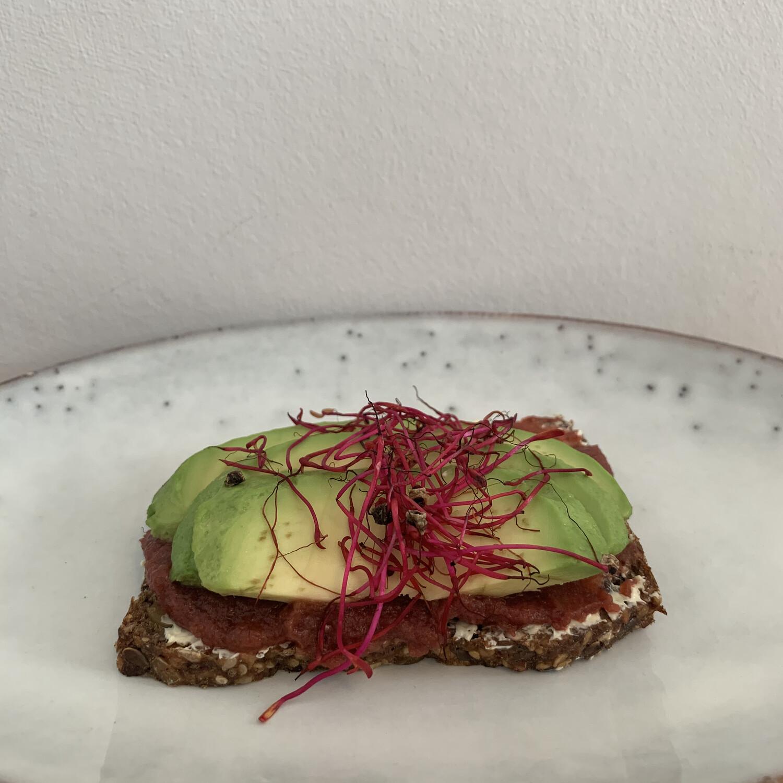 Smörrebröd - Avocado/Randen