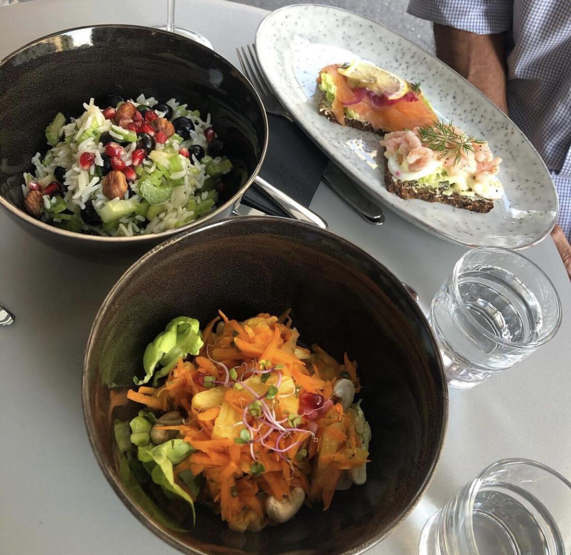 Hausgemachter Tagessalat