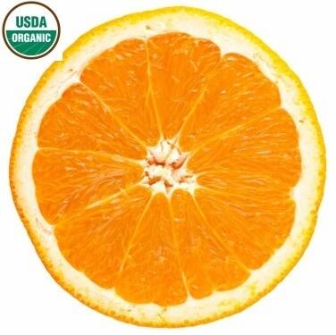 Sweet Orange Organic Essential Oil - Citrus sinensis