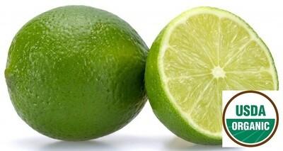 Lime Organic Essential Oil Citrus aurantifolia