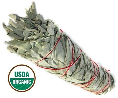 Organic White Sage Hydrosol Floral Water 2oz