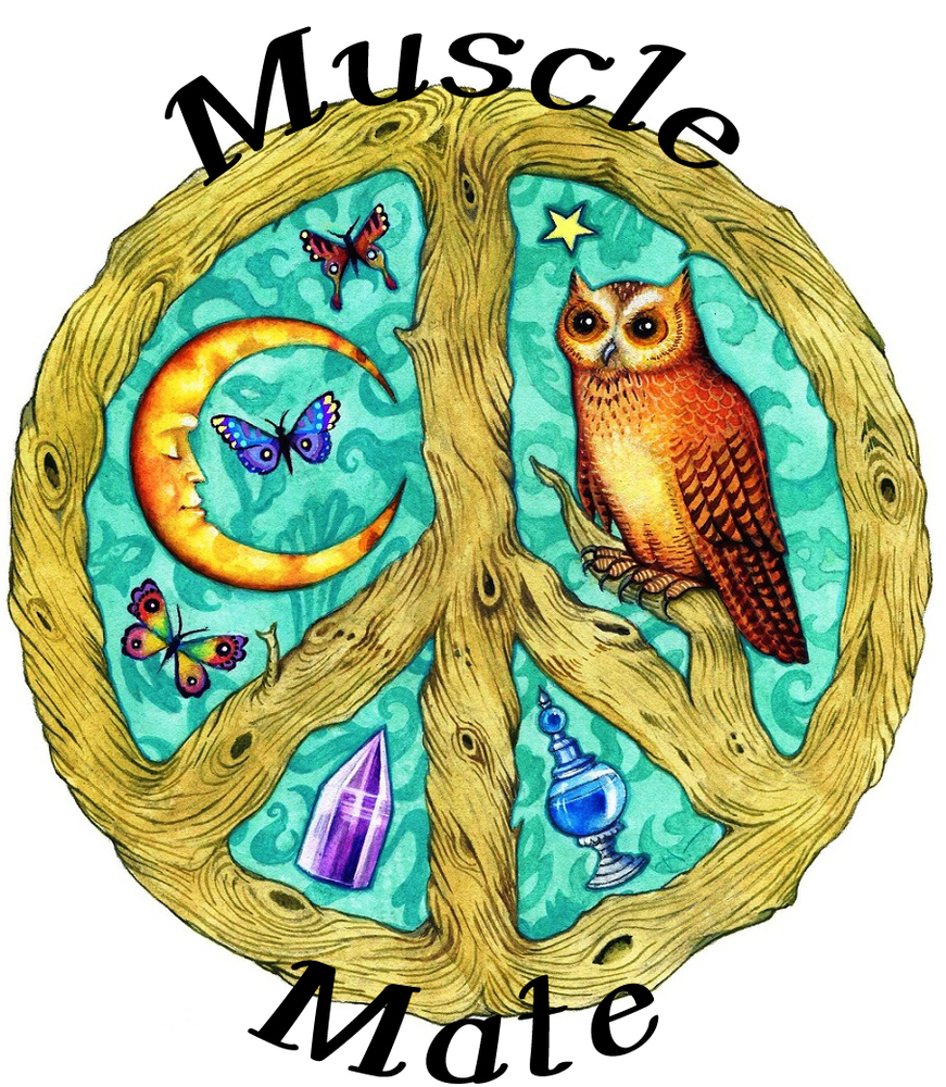 Muscle Mate Organic Essential Oil Blend (Muscle Pain Strain)