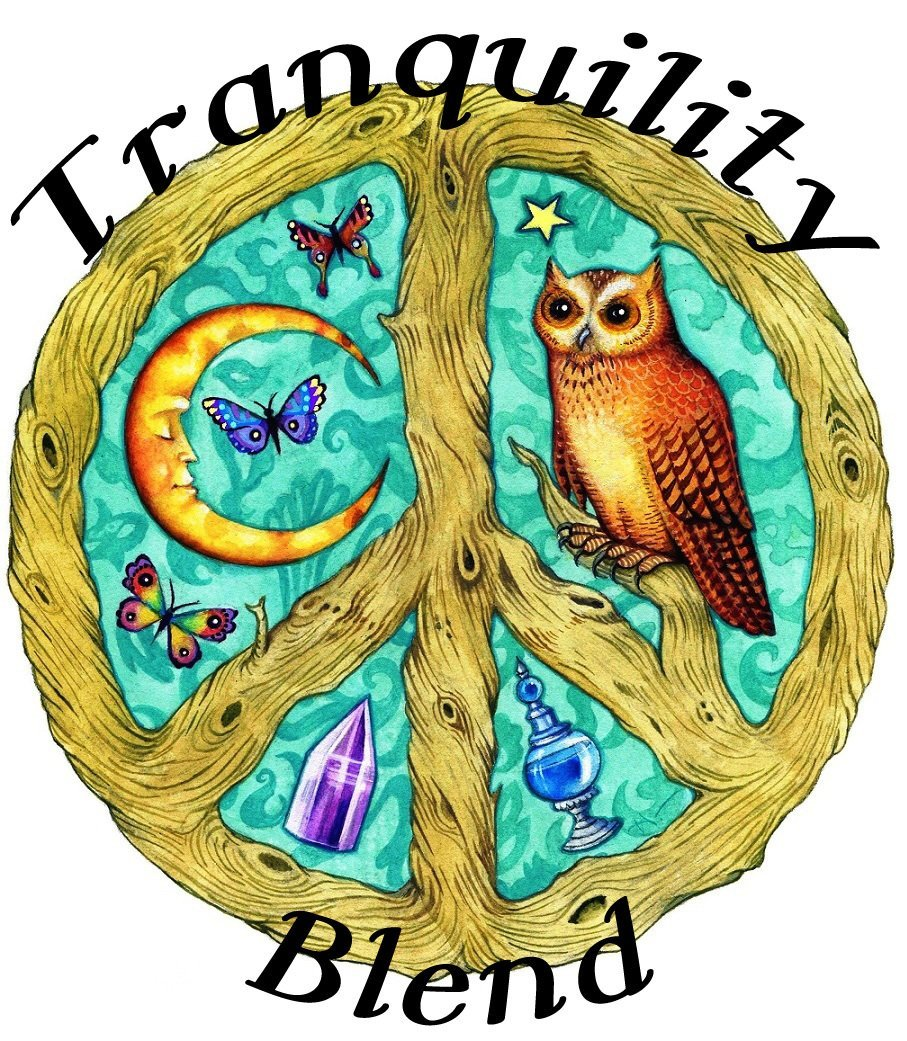 Tranquility Organic Essential Oil Blend (rest meditation serenity peace)