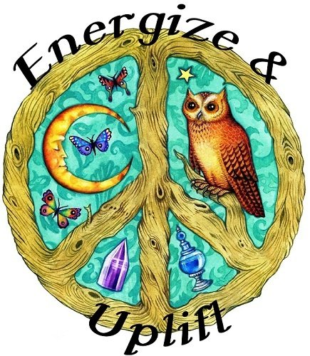 Energize & Uplift Organic Essential Oil Blend (depression stress anxiety)