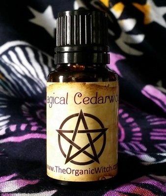Magical Cedarwood Atlas Organic Essential Oil - Cedrus atlanticus