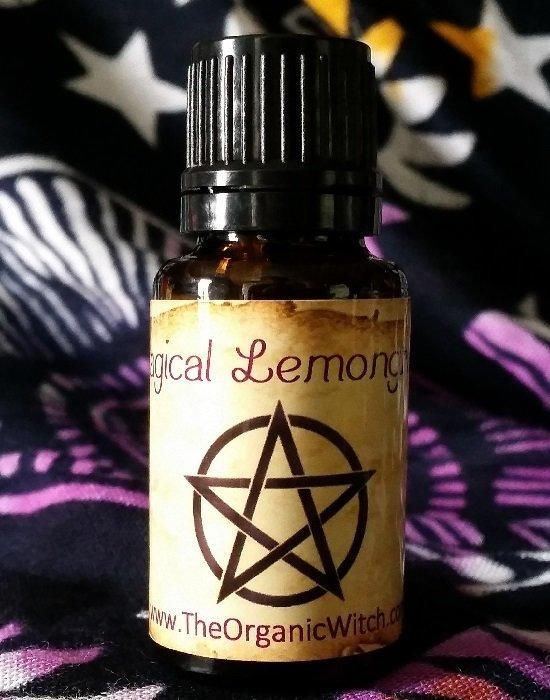 Magical Lemongrass Organic Essential Oil - Cymbopogon flexuosus