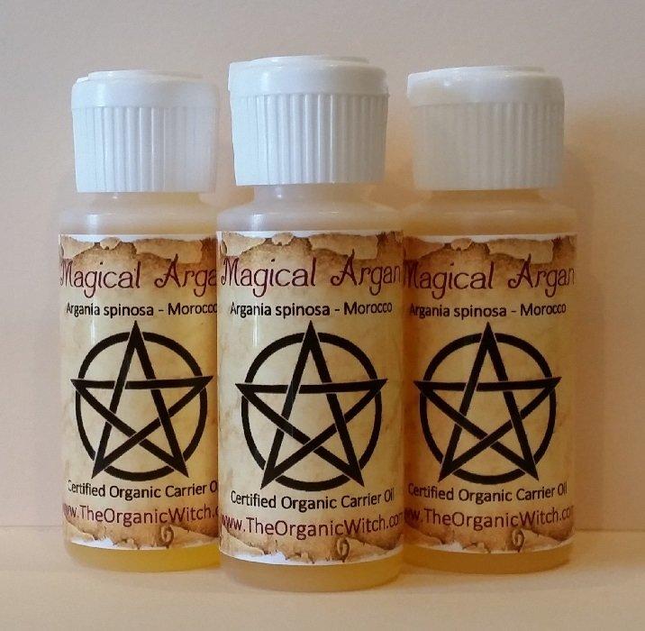 Magical Argan Virgin Organic Carrier Oil - Argania spinosa 1oz