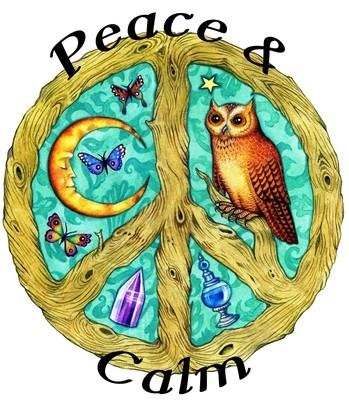 Peace & Calm Organic Essential Oil Diffuser Blend