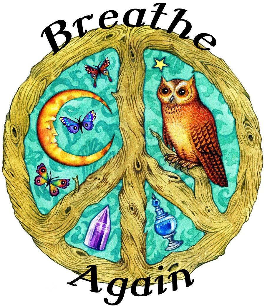 Breathe Again Organic Essential Oil Blend (Allergy Sinus Decongestant)
