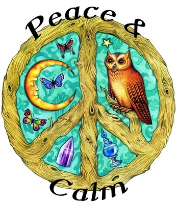 Peace & Calm Organic Essential Oil Blend (anxiety depression stress release)