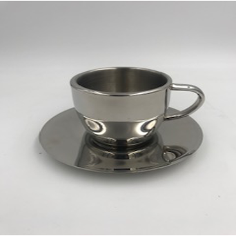Insulated Cup & Saucer 6oz