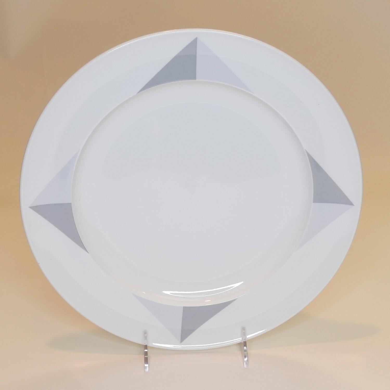 "Large Diamonds Plate 12""- Dozen"