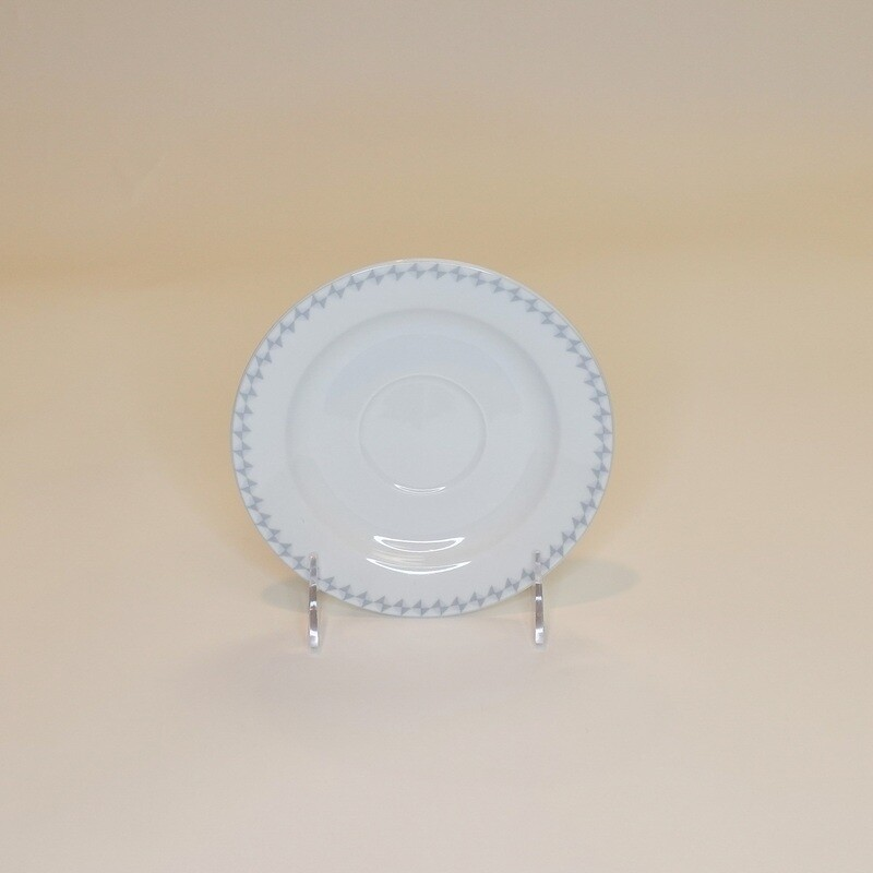 "Diamonds Saucer 6 1/4""- 3 Dozen/ case"